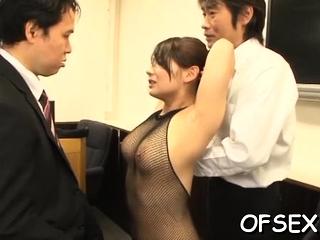 Nude office sugar-daddy gets..