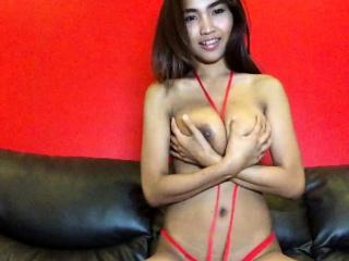 Big Tits Thai hottie strips..