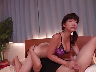 Taboo Japanese blowjob with..