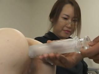 Asian secretary from Tokyo..