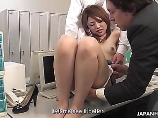 Office worker rino mizusawa..