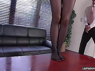 Slender oriental playgirl..