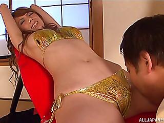 Oriental Girl In A Shiny..