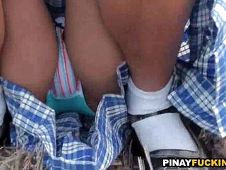 Daring Asian Amateur Gives..