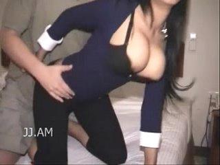 Asian Busty Yui Bouncing Boobs
