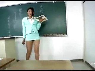 Sexy asian teacher