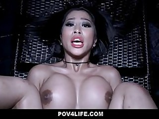 Sexy Big Tits Asian Teenager..
