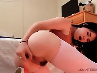 Stunning Asian girlfriend..
