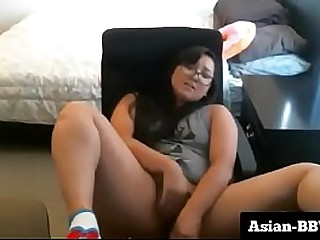 Chubby Asian Slut Stuffing..