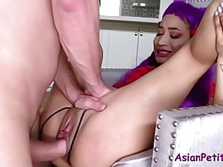 Teen Asian Slut Fucks Mature..