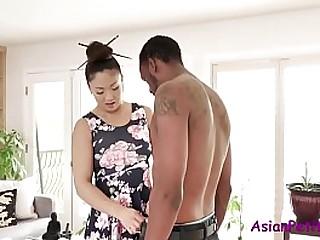 Big Black Cock For Asian MILF