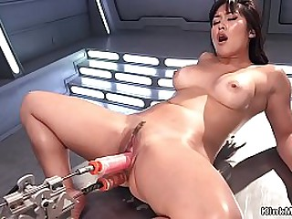 Dark haired Asian solo Milf..