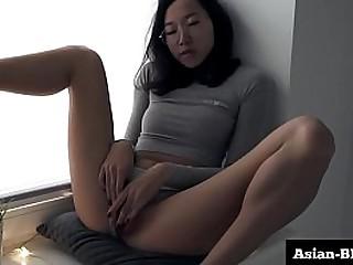 Slim Sexy Asian Slut Rubs..