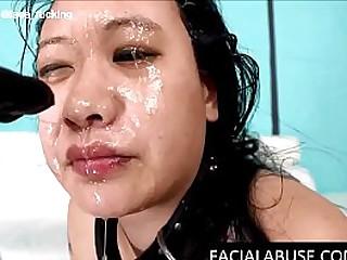 Stupid Asian chick ass..