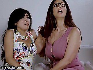 Busty Lesbian Mom Loves..