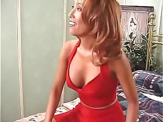 Hot asian slut gets..