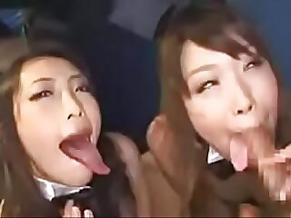Japanese Teens Blowjob