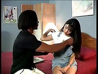 Horny young Asian schoolgirl..