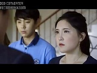 Young asian mother scene