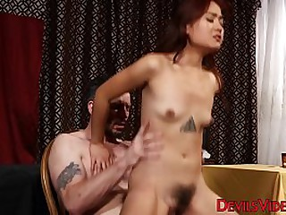 Impressive cock riding from..