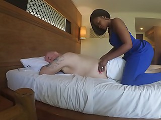 Massage in Africa  with..