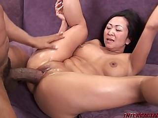 Asian Snatch Split by Big..