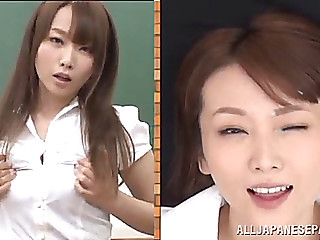 Hawt japanese teacher ends..