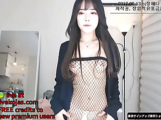 Korean hawt camgirl in..