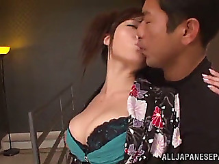 Anal sex with a breasty..