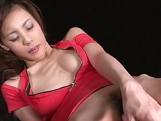 Skinny Asian bitch Natsumi..