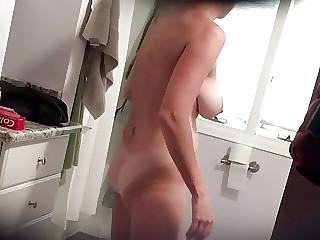 Hawt wife with massive boobs..